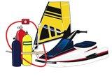 Lock Alarm maxi 1,2 meter, kabelslot met alarm 5944_