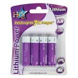 AA lithium batterij 1,5 V 4 stuks_