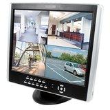 Monitor met geintegreerde 4-kanaals harddisk recorder_
