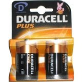 Duracell D cell batterij, PLUS POWER ALKALINE D/MN1300 BLISTER 2_