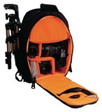Camera Sling Bag 200 x 330 x 125 mm Zwart / Oranje_