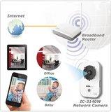 HD IP-Camera Binnen Wit/Zwart_