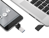 USB stick voor Apple telefoon, SP xDrive Z50, 128Gb SP128GBLU3Z50V1S_