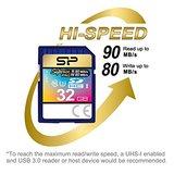 Silicon Power 32Gb SD Card, Superior Pro 4K SDHC-SDXC UHS-1 U3  _