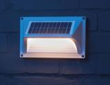 Solar wand-lamp, op zonne-energie, warm wit licht_