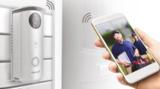 Draadloze deurbel met camera en app, APWIFIDSBP