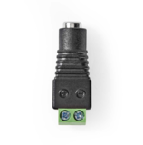 CCTV-Beveiligingsconnector, 2-Aderig naar DC male, 5,5 x 2,1 mm, 5 stuks_