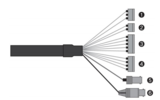 Vista VP-HDA20-SMW analoog bestuurbare dome