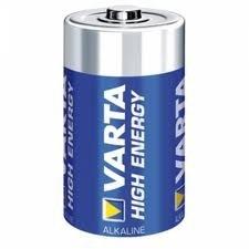 Varta high energy LR20 batterij, D mono