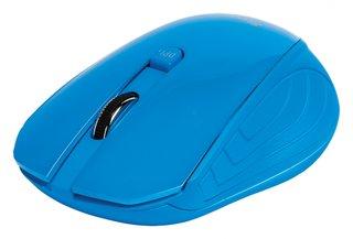Draadloze optische muis, blauw