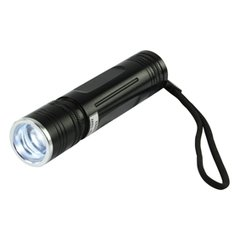 Aluminium led zaklamp 3W, TORCH-L-01