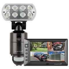 Lamp met camera, GuardCam WF-M met Monitor