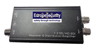 SD/HD/3G-SDI 1 tot 2 distributie versterker