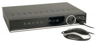 Digitale videorecorder met ingebouwde harde schijf van 1TB