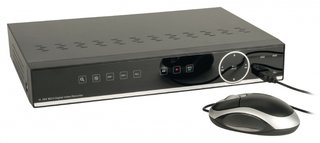 Digitale videorecorder, SAS-DVR1016