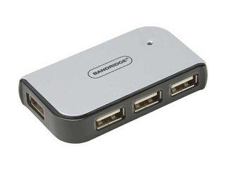 USB splitter 4 poorts