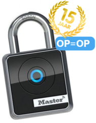 MasterLock 4400EURD bluetooth hangslot, jubileumactie OP = OP