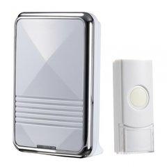Draadloze witte deurbel met 36 melodieen, QH-823A