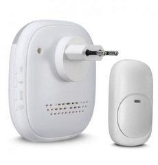 Draadloze deurbel QH-860AK, 36 melodieen plug in, QH-860AK