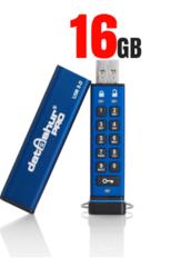 datAshur PRO beveiligde USB 3.0 stick met PIN code 16GB