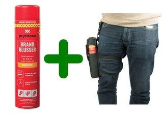 Prymaxx sprayblusser en beenholster