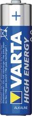 Varta Alkaline batterij AA 1.5 V high energy, more power 4 stuks