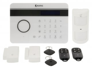 Draadloos alarmsysteem SAS-ALARM300