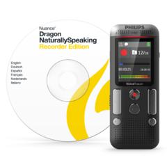 Philips DVT2710 voice tracer digitale recorder met spraakherkenningssoftware en stereo opname
