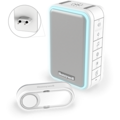Draadloze plug-in deurbel met USB-oplader en drukknop DC315SP2