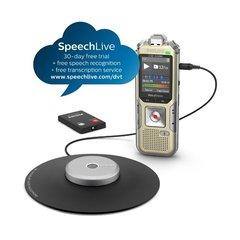 Philips voice recorder DVT8010 voor vergaderingen met omnidirectionele opname