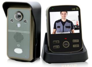 Draadloze video deurbel met camera en opname Kivos KDB302A Nieuwste model!