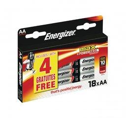 Energizer Alkaline Batterij AA 1.5 Volt 18 stuks