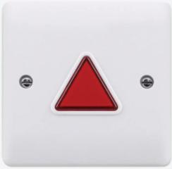 Alarm en licht unit voor mindervaliden (miva) toilet