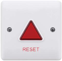 Reset unit voor mindervaliden (miva) toilet