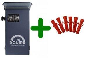 Squire Stronghold sleutelkluis met pluggen, Stronghold Keysafe