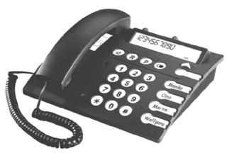 SOS telefoontoestel op=op
