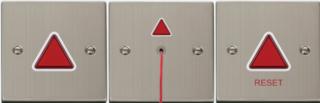 Mindervaliden (miva) alarm, roestvrij staal
