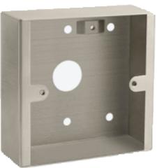 Opbouwdoos RVS mindervaliden alarm (miva)