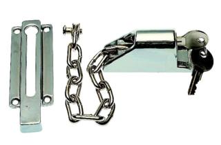 Kierstandhouder deurketting voor opdekdeuren met cilinderslot