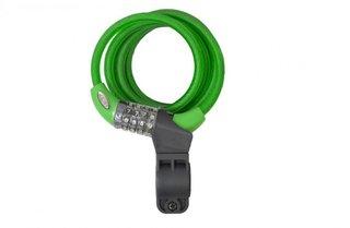 Squire Zenith 216 groen, combinatie fietsslot 1.8m