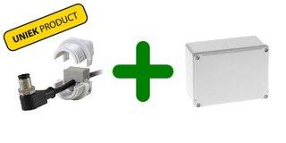 Wartel Waterdicht Splijtbaar IP54 + Opbouwdoos Kunststof Waterdicht IP54, combi voordeel!