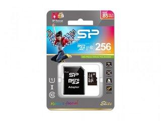 Silicon Power MicroSD card, Elite 256GB SP256GBSTXBU1V20SP