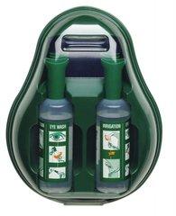 Oogspoelstation steriele zoutoplossing spoelmiddel, 2 flacons 500ml