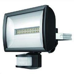 theLeda EC20 zwarte lamp met bewegingssensor 20W