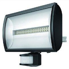theLeda EC30 zwarte lamp met bewegingssensor 30W