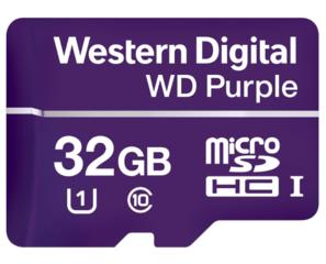 Geheugenkaart MicroSDXC speciaal voor videobewaking 32GB, WDD032G1P0A