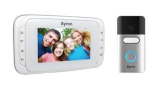 Draadloze video-deurintercom, Byron DIC-22815