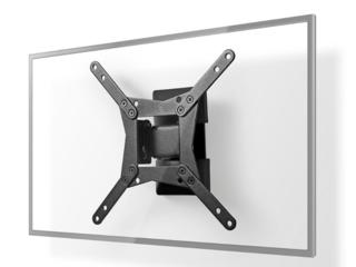 TV-Muurbeugel draai- en kantelbaar 10-32 inch, max. 30kg