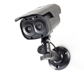 Dummy beveiligingscamera, Bullet DUMCBS30BK