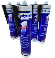 321 Polymet kit zwart, voor verankeren kluis